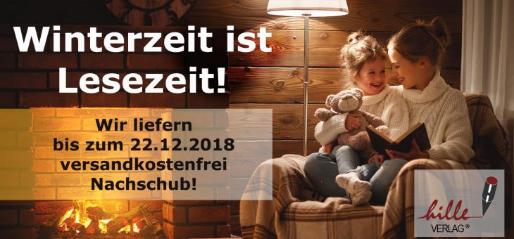 Versandkostenfreie Lieferung bis zum 22. Dezember 2018!