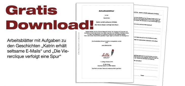 Arbeitsblätter zum neuen Buch als kostenloser Download