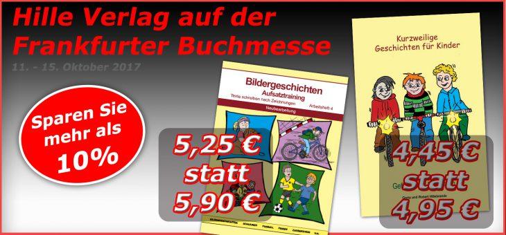 Hille Verlag bei der Frankfurter Buchmesse – exklusive Angebote!