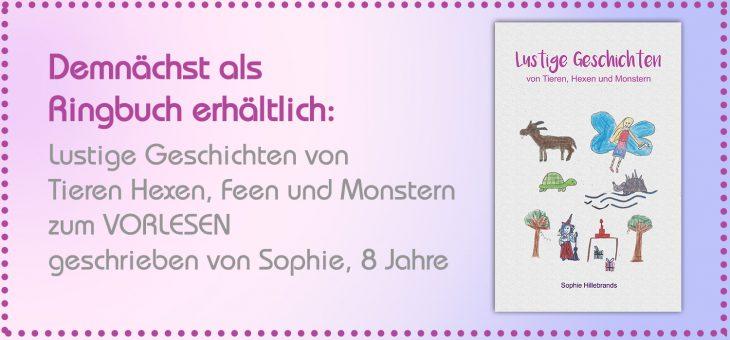 Jetzt als Ringbuch erhältlich: Lustige Geschichten von Tieren, Hexen und Monstern!