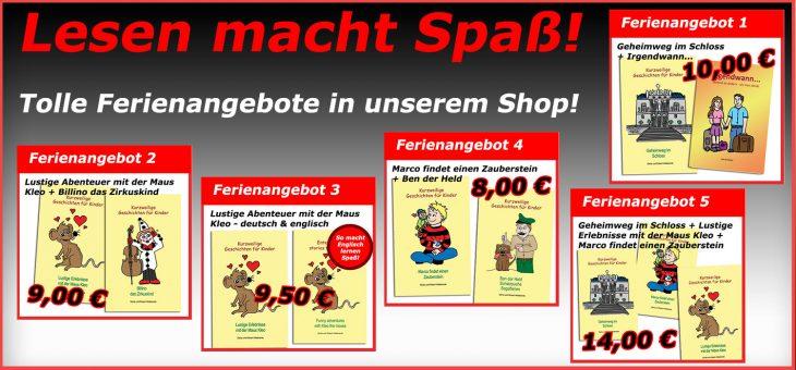 Super Spar-Angebote zur Ferienzeit! Reinschauen lohnt sich!